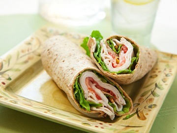 Turkey Cranberry Wrap - Dietitian's Choice Recipe