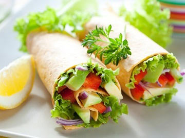 Very Veggie Wrap - Dietitian's Choice Recipe