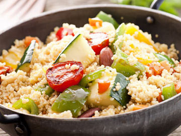 Whole Wheat Couscous Salad - Lactose Free