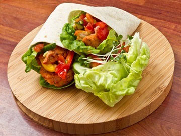 Avocado Chicken Wrap - Dietitian's Choice Recipe