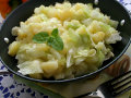 Cabbage Potato Saute