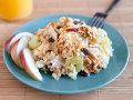 Chicken Rice and Fruit Salad