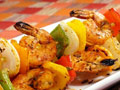 Lime Shrimp Kebobs